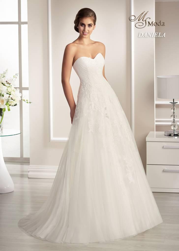 Svatební šaty - Daniela