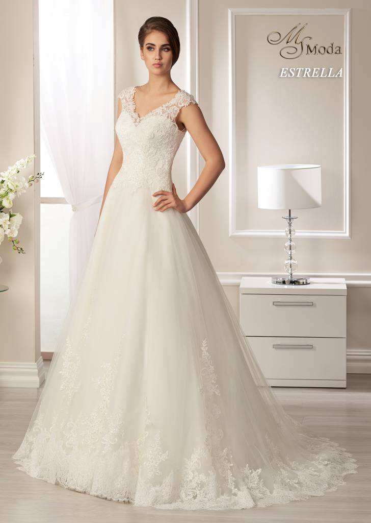 Svatební šaty - Estrella