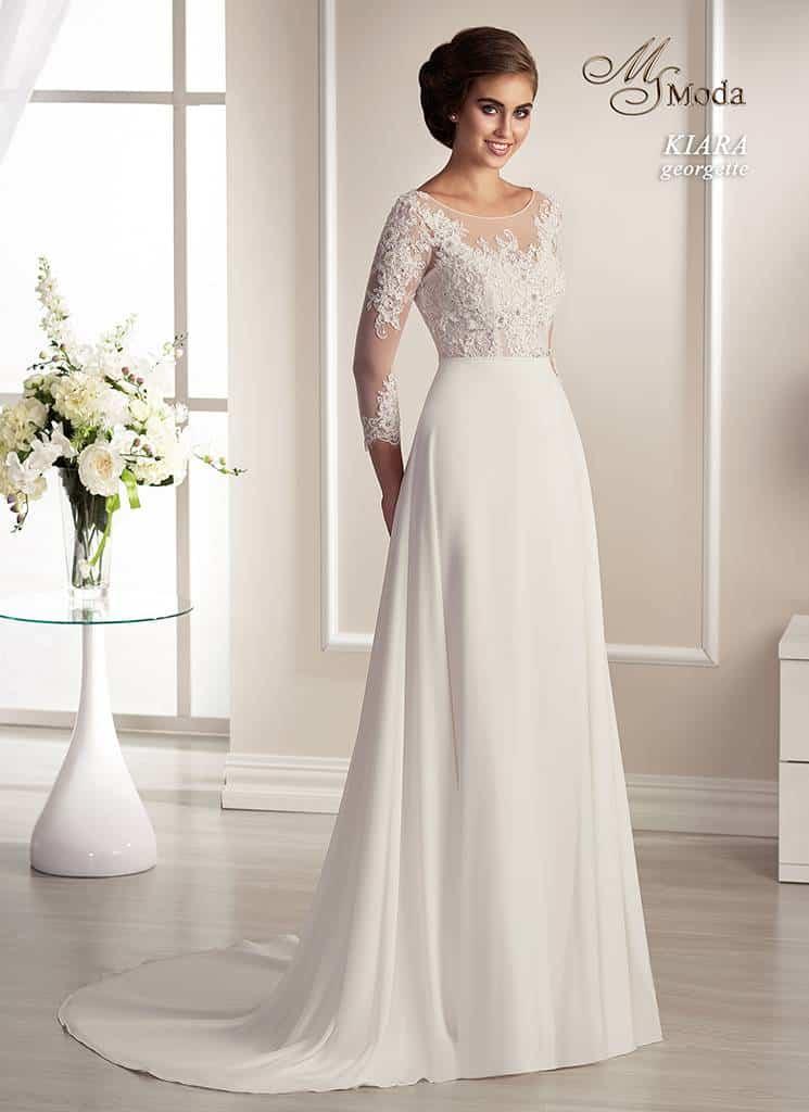 Svatební šaty - Kiara Georgette