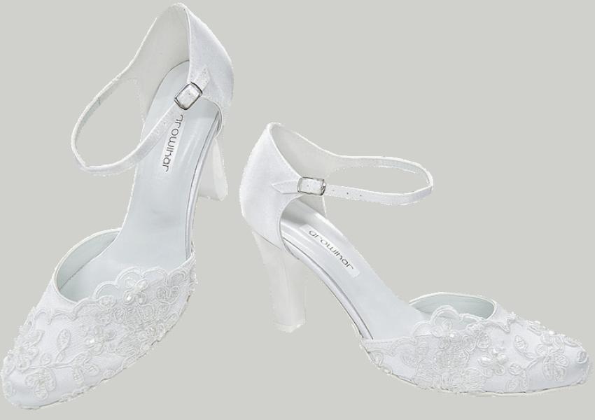 Svatební boty bílé - Kopia 48