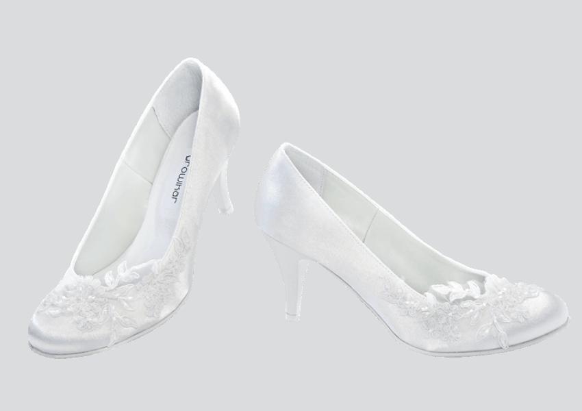 Svatební boty bílé - Kopia 51