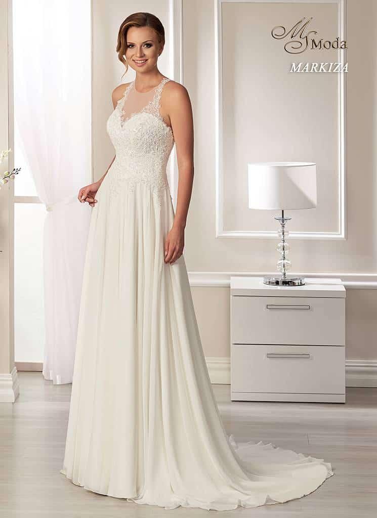 Svatební šaty - Markiza