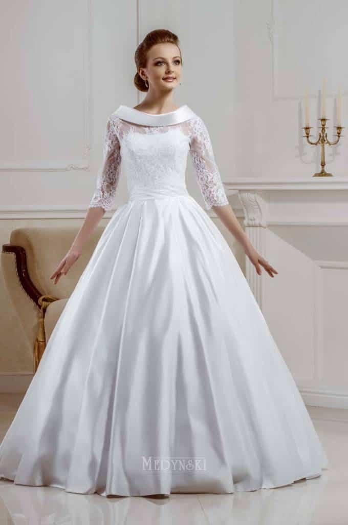 Svatební šaty - Rachel 01 Extra