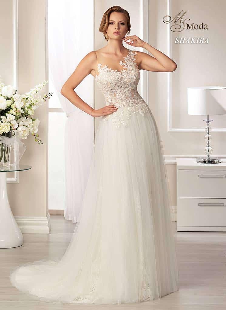 Svatební šaty - Shakira