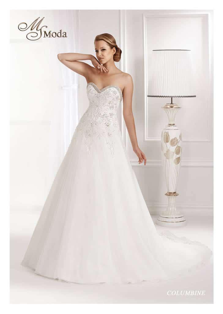 Svatební šaty - Columbine
