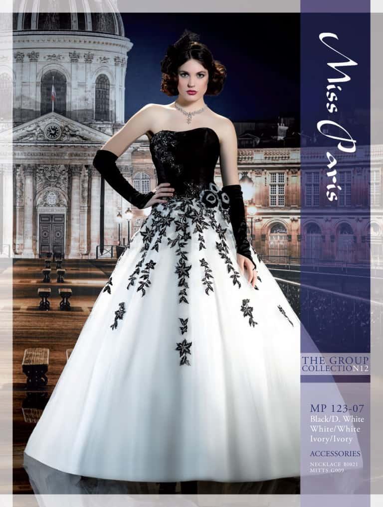 Svatební salon Svatební šaty - Miss Paris 123-07