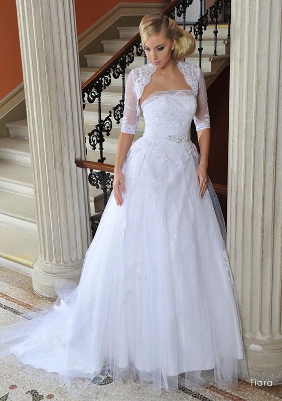 Svatební šaty - Tiara